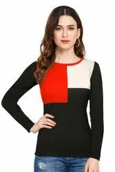 Pradeep Fashion Full Sleeve Ladies Corporate T Shirt