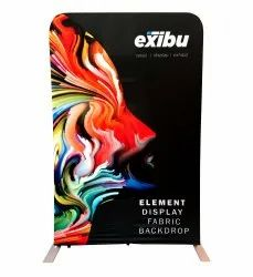 Fabric Promotional Display Stand
