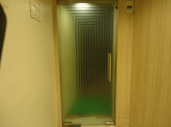 Designer Toughened Glass Door