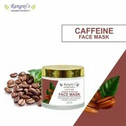 Rangrej's Aromatherapy Caffeine Radiant & Glowing Face Mask For Glowing & Brightening Skin 100ml