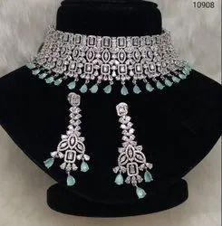 Designer AD Choker Necklace Sets