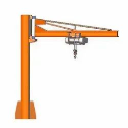 MS Pillar Mounted Jib Crane