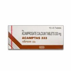 Acamptas 333 Mg Acamprosate Calcium Tablets, Intas