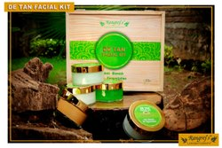 Rangrej's Aromatherapy De Tan Facial Kit For Anti Blemish,De Pigmentation (5 Step x 50gm)