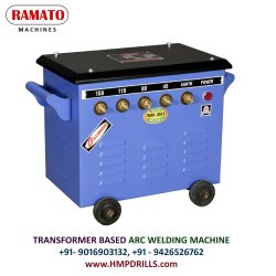 RAMATO 150 Amp (1 And 2 Phase) Stud Type Welding Machine