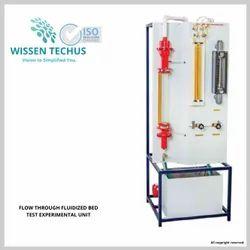 Wissen Techus Stainless Steel Flow Through Fluidized Bed Apparatus