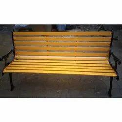 Rectangular Cast Iron Bench, For Restaurant, Size: 5 X 2 X 3.5 Feet