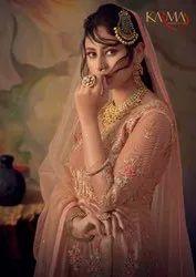 Karma Trendz 846-852 Series Net Embroidery Sharara Style Salwar Kameez Catalog