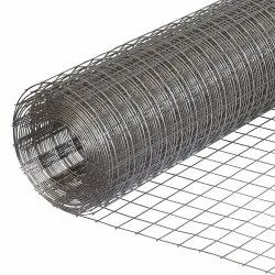 8 Mm Cold Rolled Galvanized Iron Square Welded Wire Mesh, For Agricultural, Packaging Type: Roll