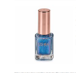 Blue Oshea 14 Titanic Nail Enamel, Glass Bottle, Packaging Size: 10 Ml