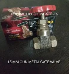 15 Mm Gun Metal Gate Valve