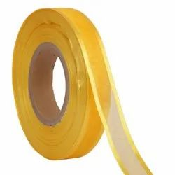 Organza Satin - Yellow Ribbons25mm/1''inch 20mtr Length