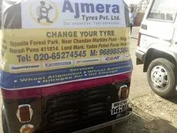 Outdoor Ad Recxin Auto Rickshaw Advertising Services, in Pune