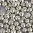 SB1 Blossom Silver Decoration Balls