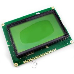 JHD Green And Yellow 240 x 64 Dots Graphic LCD Display Module