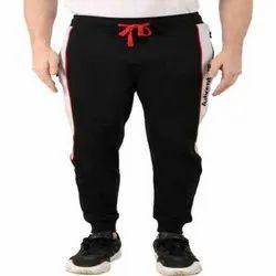 Cotton Blend Plain Mens Casual Trouser