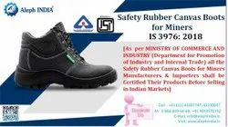 Bis Certification for Safety Rubber Boots