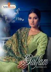 Tunic House Gulfam Pashmina Digital Print Winter Dress Material Catalog