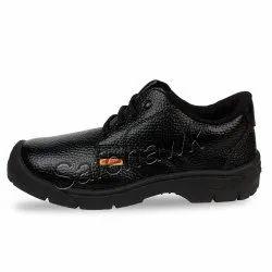 SAFEHAWK Black Lightweight Safety Shoes