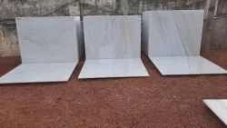 Polished Makrana White Marble, Application Area: Walls,Flooring, Thickness: 20 mm