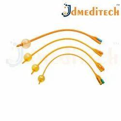 Foley Balloon Catheter (Latex And Silicon)
