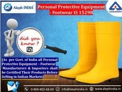 BIS Certification For Personal Protective Equipment- Footwear