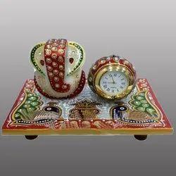 Artificial Ganesh Handicraft Touch And Watch