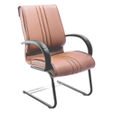 Normal Fabric Brown Executive Chair, Size: 640 (w) X 620(d) X 1050(h) Mm