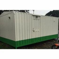 Rectangular Mild Steel Portable Cabin
