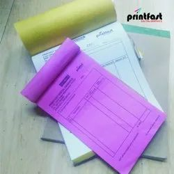 Paper Bill Book Printing Services