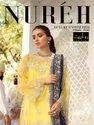 Rawayat Nureh Butterfly Net With Embroidery Work Pakistani Salwar Suit Catalog