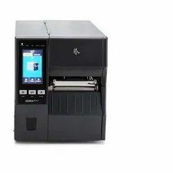 Black Zebra Industrial Printer, Model Name/Number: ZT400