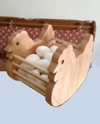Wooden Egg Stand- 01