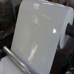 White PE Coating Mirror Coated Paper, For Gift Wrapping, GSM: 80 GSM