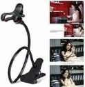 Black Plastic Universal Cell Phone Holder/mobile Phone Stand - Lazy Bracket, Size: Large