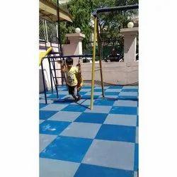 Kids Safety Rubber Flooring Tiles