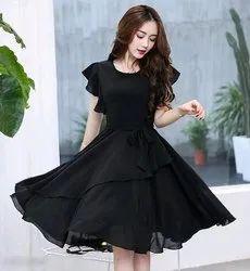 Fancy Black Women Dress