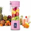 Portable Rechargeable Juicer Blender Bottle with USB Charging Cable (Multicolor)