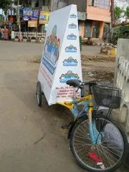 Tricycle Advertising Service, in Pan India, Size: 7 X 4