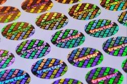 2d 3d Hologram Sticker