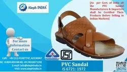 BIS Certification for PV Sandal