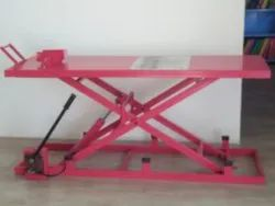 Mech India Motorcycle Hydraulic Ramp, For Two Wheeler