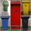 Road Side Stainless Steel Pole Wastebasket