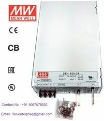 Meanwell 24VDC 62.5A Power Supply