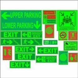 Emergency Safety Signage