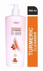 Rangrej's Aromatherapy Turmeric Face Cleanser For Remove Dirt & Impurities (500 Ml)