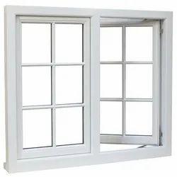 Magicwoods Modern Aluminium Casement Window, For Residential
