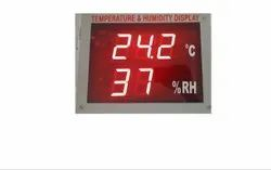 Jumbo Display Temperature and Humidity Indicator