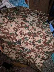 Military como flag fabric