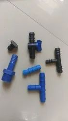 Plastic 25mm Aeration Tee Tube, For Hydraulic Pipe